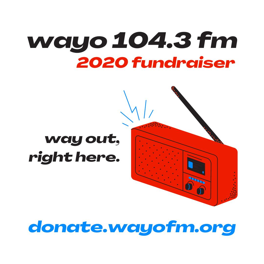 WAYO 2020-21 fundraiser